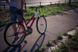 自転車と膝痛