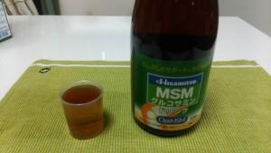 MSMグルコサミンドリンク_そのまま飲む